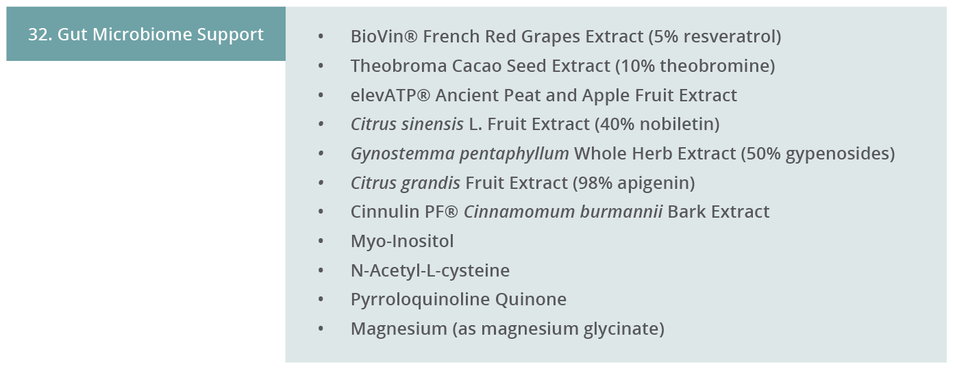 Image 32. Gut Microbiome Support