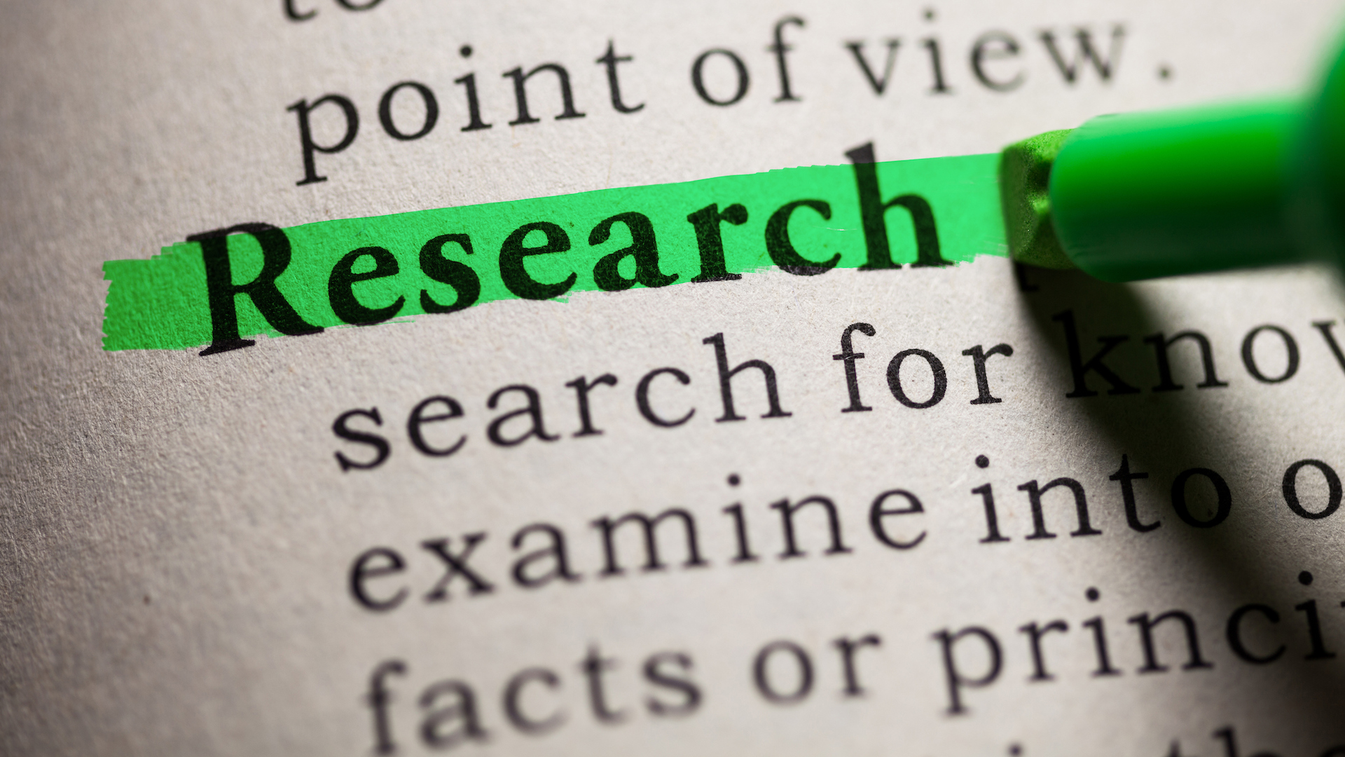 Neglected Areas of Research: What Study Would You Have Done with Unlimited Resources?