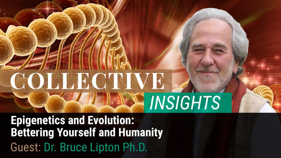 Epigenetics and Evolution: Bettering Yourself and Humanity with Dr. Bruce H. Lipton
