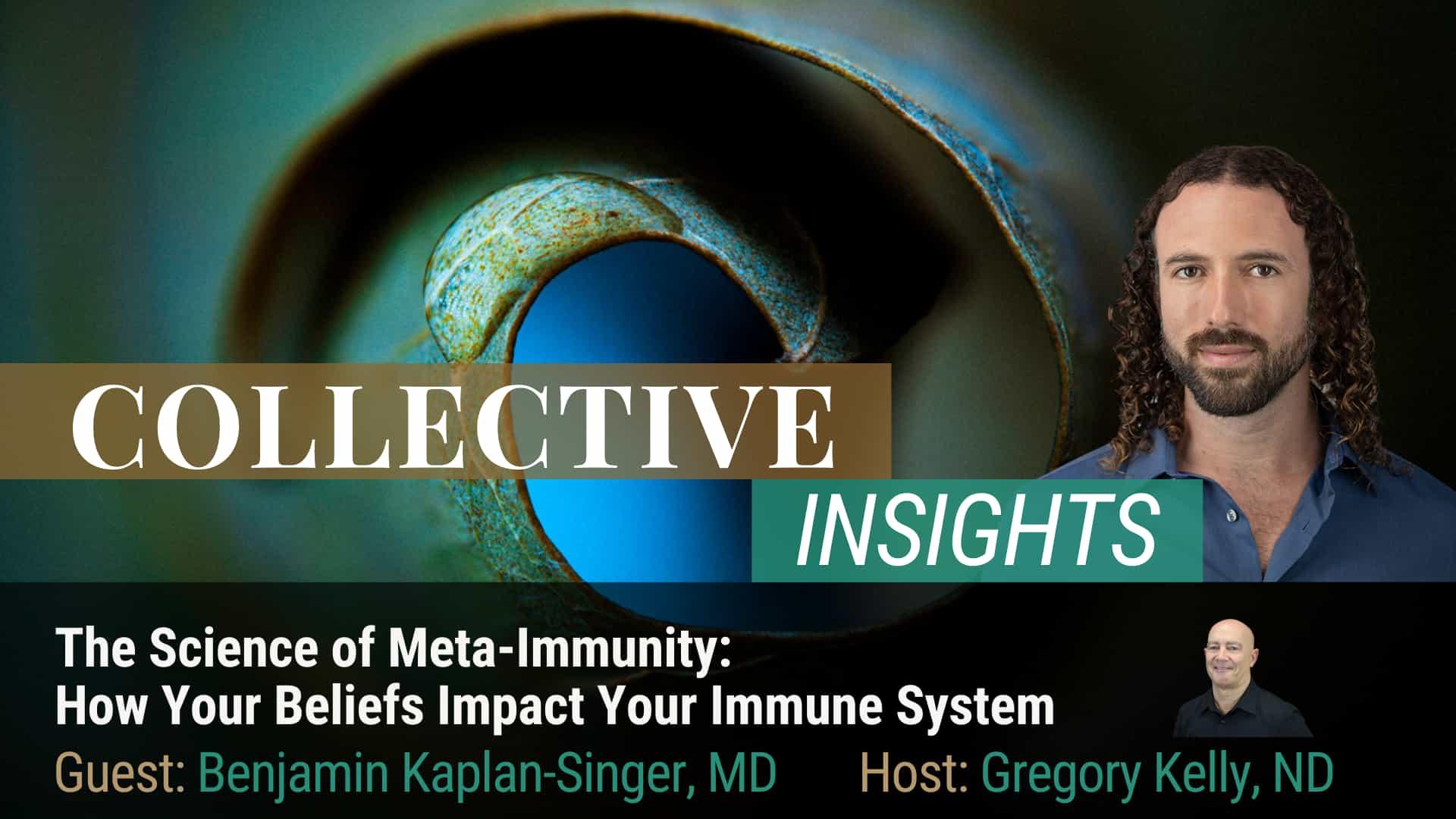 The Science of Meta-Immunity - Dr. Benjamin Kaplan-Singer - Immune