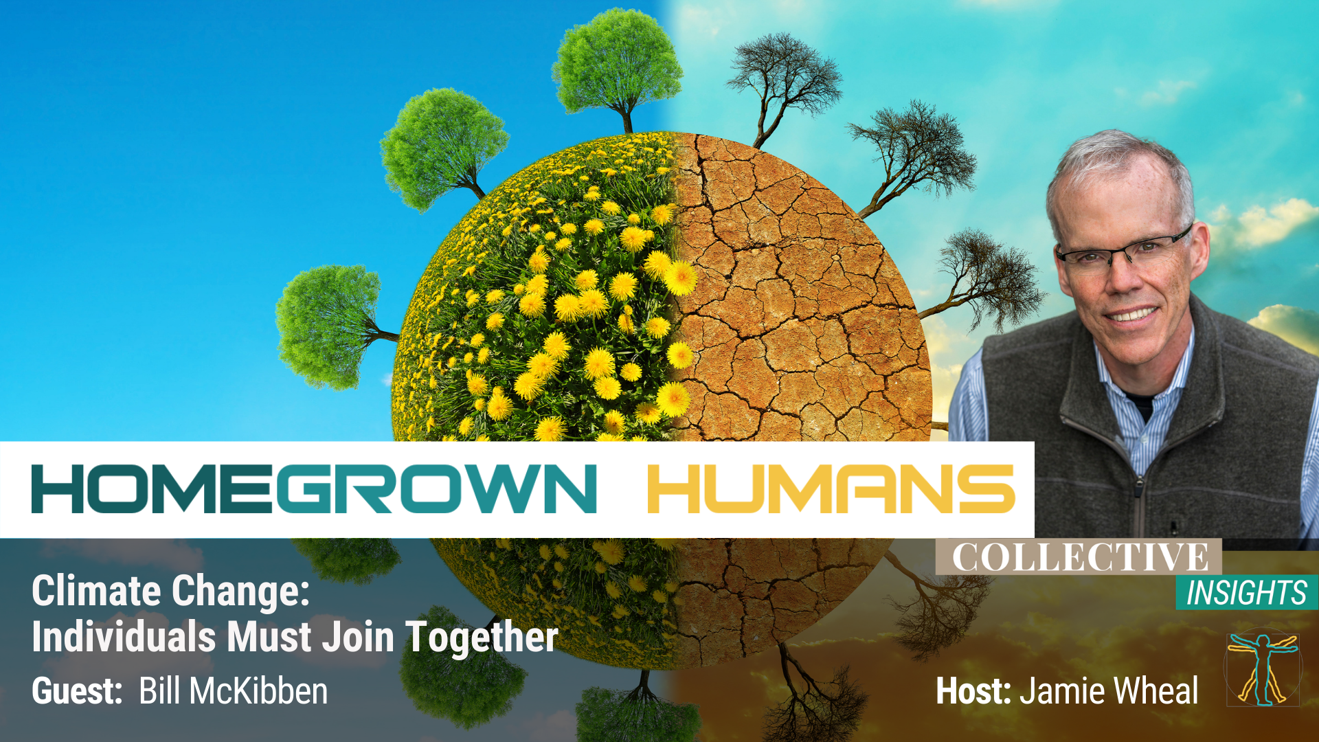 HomeGrown Humans - Bill McKibben - Climate Change - Hosted by Jamie Wheal