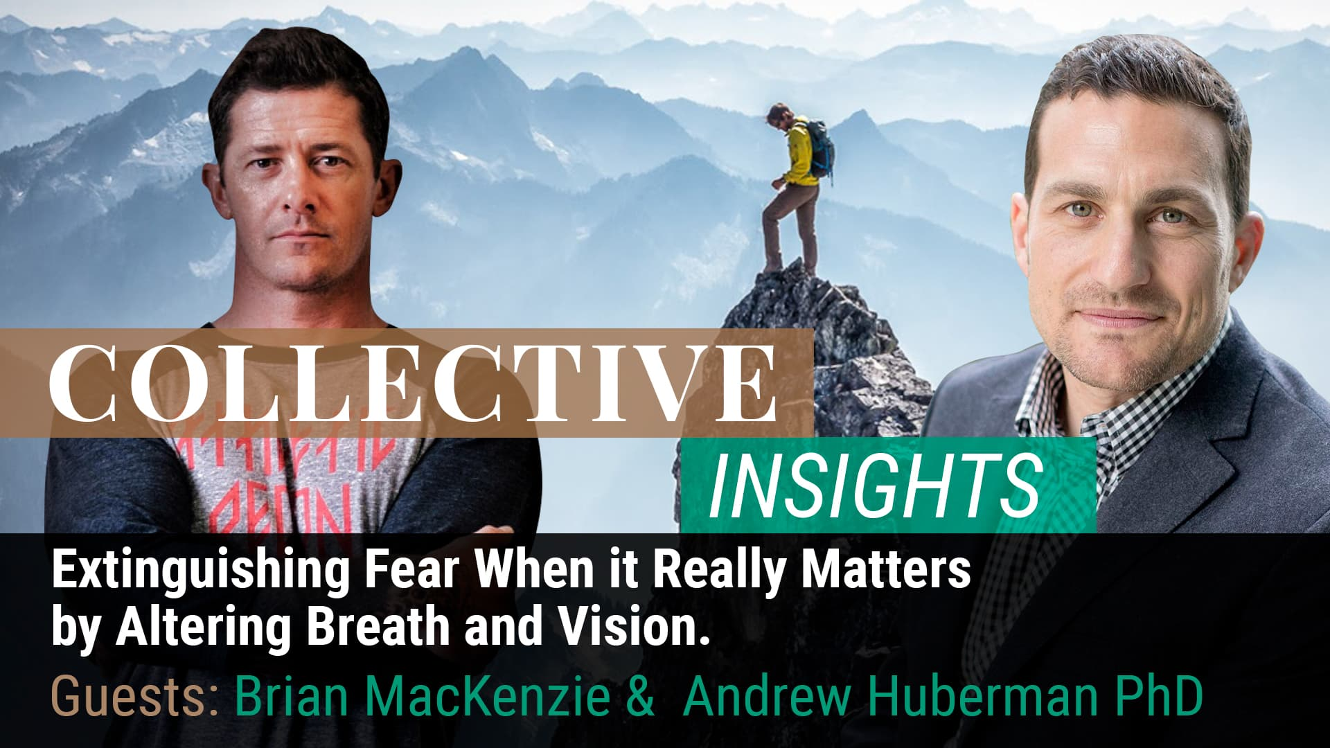 Extinguishing Fear When it Really Matters by Altering Breath and Vision.