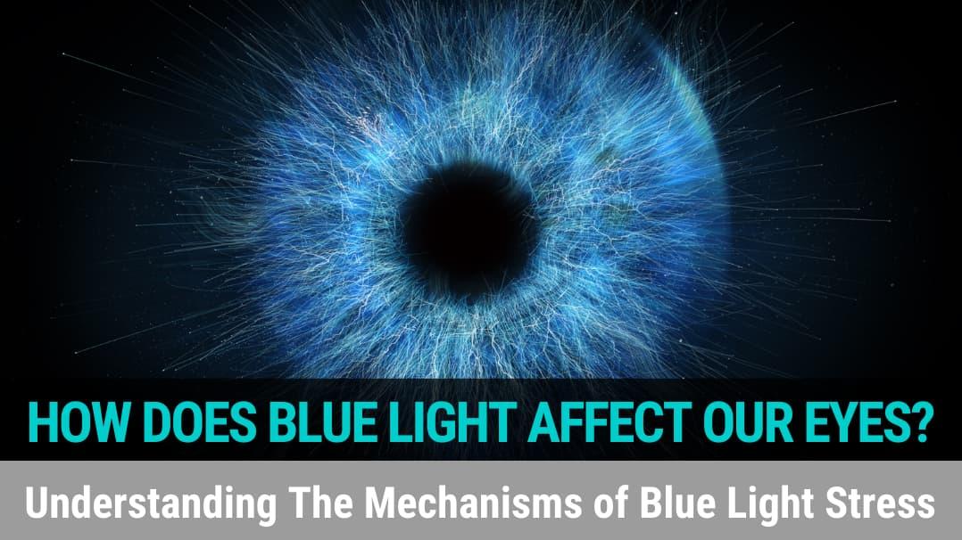 How Does Blue Light Affect Our Eyes? Understanding The Mechanisms of Blue Light Stress