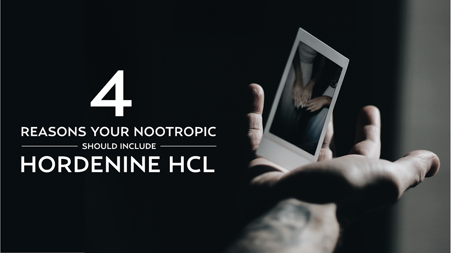 4 Reasons Your Nootropic Should Include Hordenine HCl