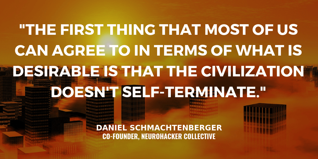 Overcoming Existential Risks by Redesigning Civilization with Daniel Schmachtenberger