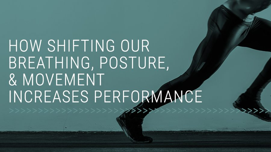 How Shifting our Breathing, Posture, & Movement Increases Performance