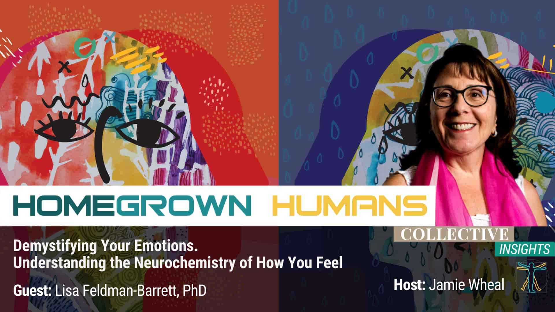 HomeGrown Humans - Lisa Feldman Barrett, Ph.D. - Neurochemistry - Hosted by Jamie Wheal